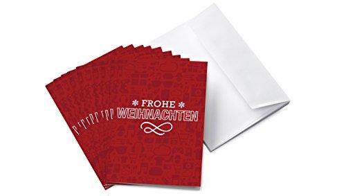 Amazon.de Grußkarte mit Geschenkgutschein – 10 Karten zu je 25 EUR (Weihnachten)