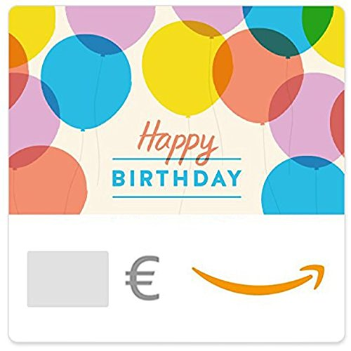 Digitaler Amazon.de Gutschein (Happy Birthday Luftballons)