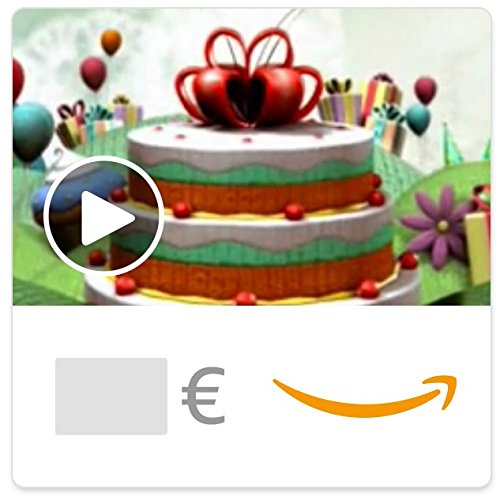 Digitaler Amazon.de Gutschein mit Animation (Geburtstagsfantasie) [American Greetings]