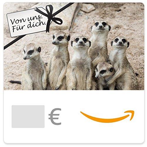 Digitaler Amazon.de Gutschein (Von uns. Für dich. (Erdmännchen))