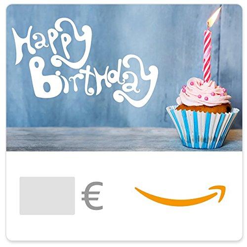 Digitaler Amazon.de Gutschein (Happy Birthday Cupcake)