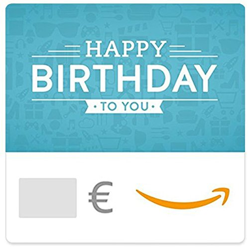 Digitaler Amazon.de Gutschein (Happy Birthday to you (blue))