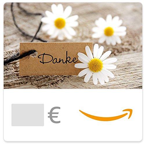 Amazon.de Gutschein per E-Mail (Dankeschön mit Blumen)