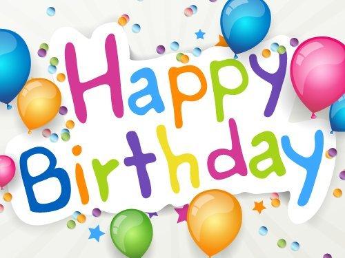 Amazon.de Gutschein zum Drucken (Happy Birthday Ballons