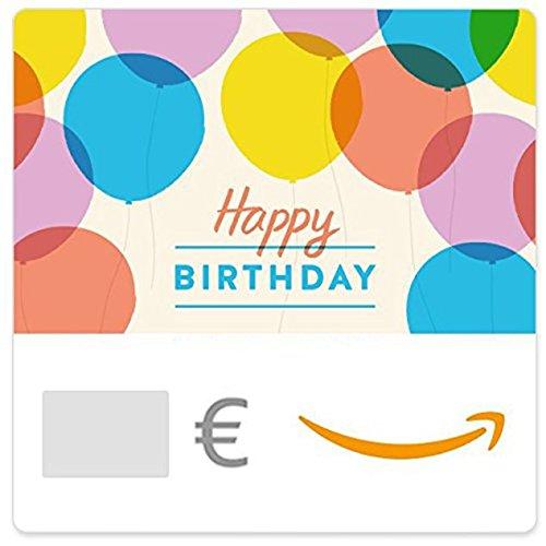 Digitaler Amazon.de Gutschein (Happy Birthday Luftballons)