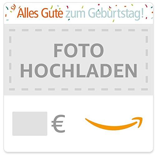 Digitaler Amazon.de Gutschein mit eigenem Foto (Geburtstag)