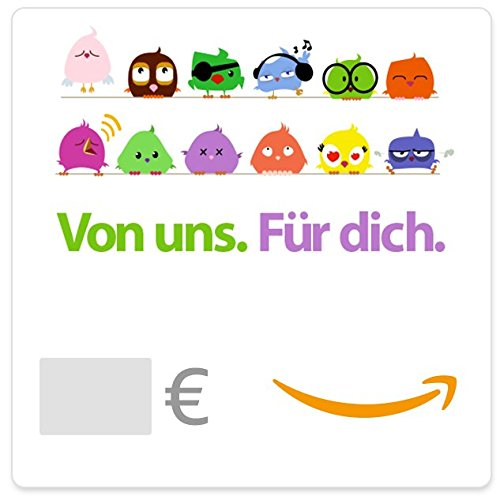 Digitaler Amazon.de Gutschein (Vögel)