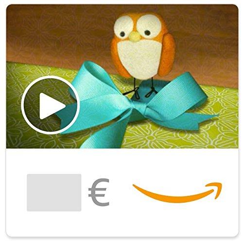 Digitaler Amazon.de Gutschein mit Animation (Kunterbunter Geburtstag) [American Greetings]