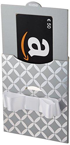 Amazon.de Geschenkkarte in Geschenkschuber – 50 EUR (Silber)