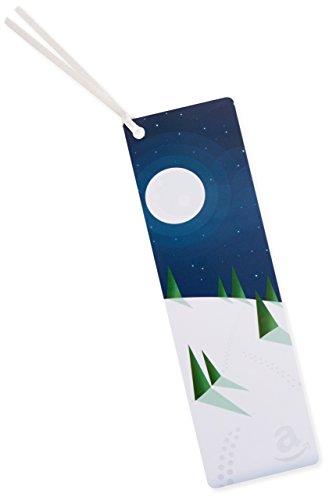 Amazon.de Geschenkkarte als Lesezeichen – 50 EUR (Winternacht)
