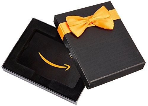 Amazon.de Geschenkkarte in Geschenkbox (Schwarz)
