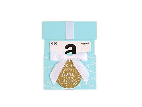 Amazon.de Geschenkkarte in Geschenkkuvert – 30 EUR (Willkommen zu Hause)