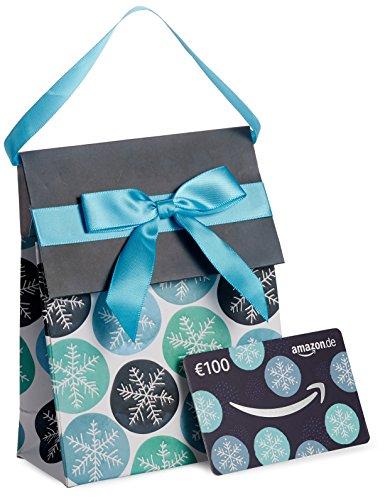 Amazon.de Geschenkkarte in Geschenktasche – 100 EUR (Winter)