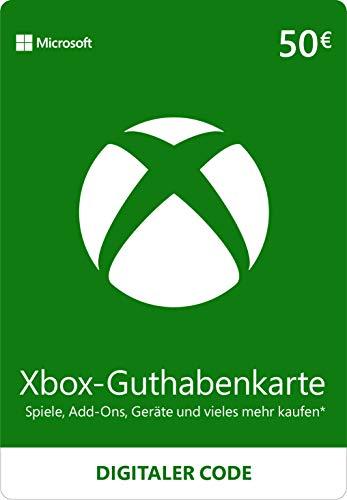 Xbox Live – 50 EUR Guthaben [Xbox Live Online Code]