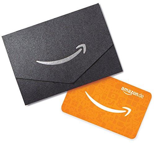 Amazon.de Geschenkkarte in Geschenkkuvert – 20 EUR (Schwarz)