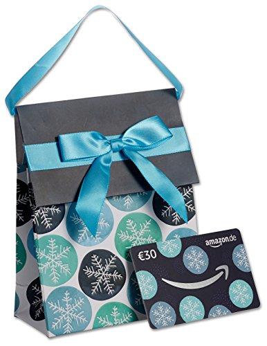 Amazon.de Geschenkkarte in Geschenktasche – 30 EUR (Winter)