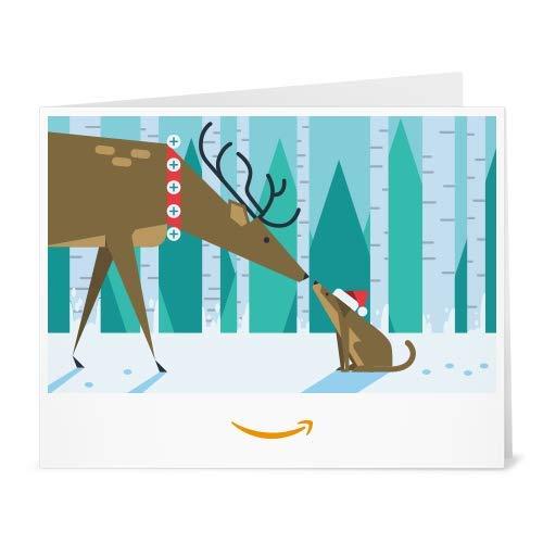 Amazon.de Gutschein zum Drucken (Weihnachtsfreunde)
